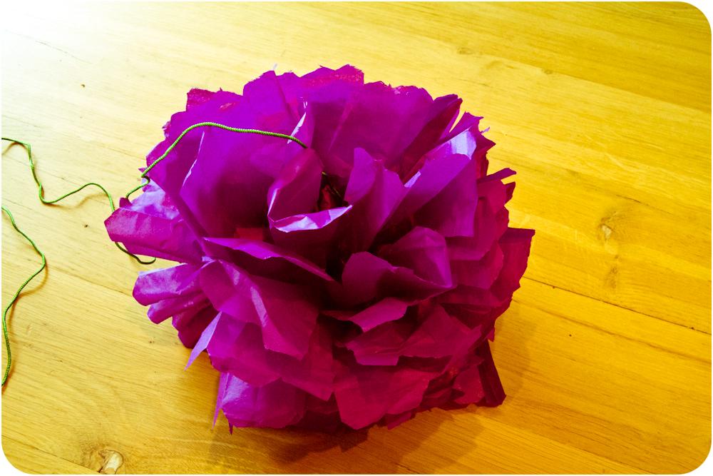 Welp DIY: bloemen van papier VI-63