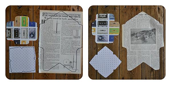 Klaar! Nu kan je beginnen met mensen blij te maken met je brief + een ...: https://www.huisvanbelle.nl/maak-je-eigen-enveloppen