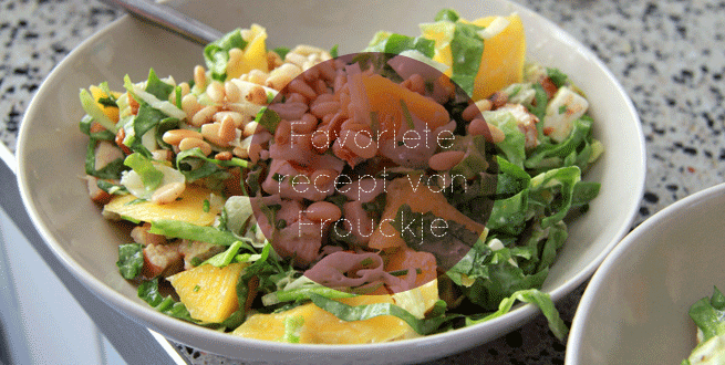 Favo recept van Frouckje - Zomerse kipsalade - Huis Van Belle
