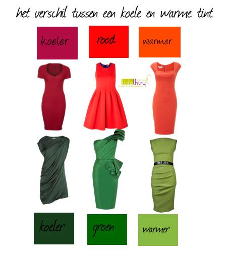 Welk kleurtype ben jij huis van belle - Warme en koude kleuren in verf ...