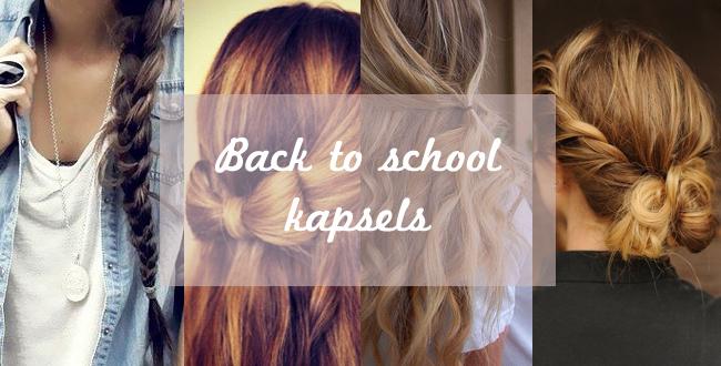 Spiksplinternieuw Snelle back to school kapsels - Huis Van Belle TN-42