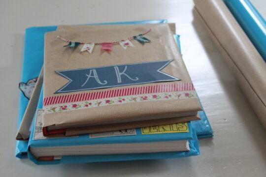 DIY: pimp je kaftpapier - Huis Van Belle