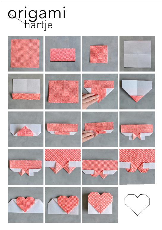 Diy origami 1 huis van belle - Hoe je een tiener van kamer te versieren ...