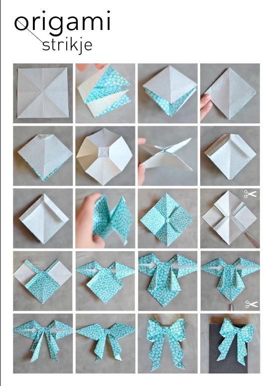 Bekend DIY - Origami #3 - Huis Van Belle #DI42