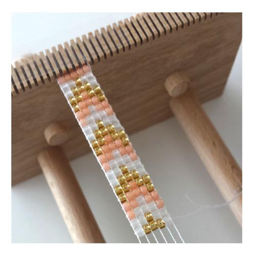 Armbandje maken met een weefraam - Huis Van Belle