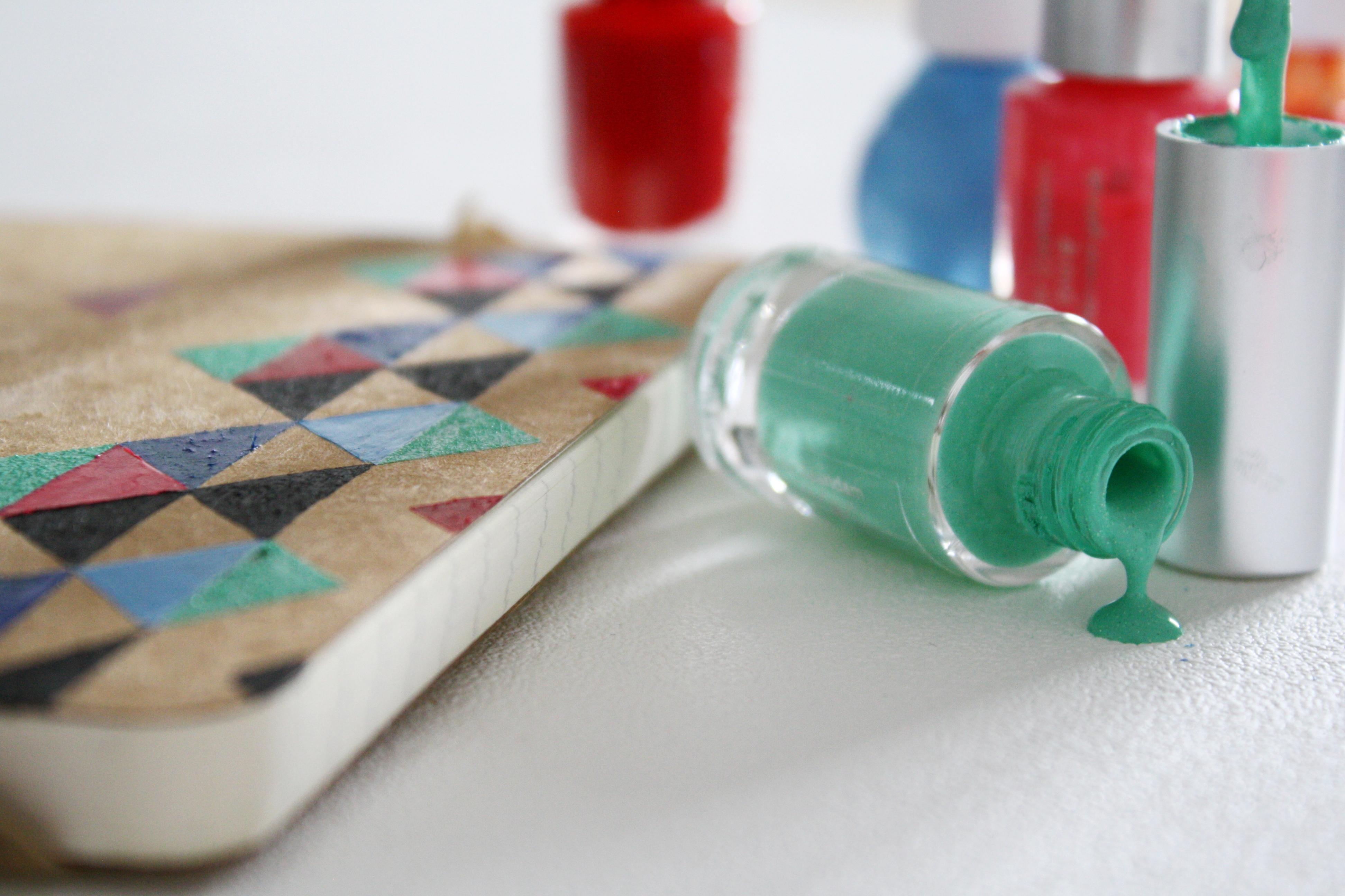 Ongebruikt DIY - Tekenen met nagellak - Huis Van Belle CN-83