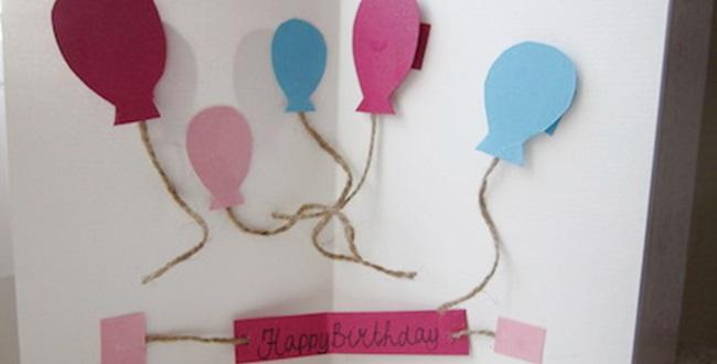 Iets Nieuws DIY - Pop-up verjaardagskaart - Huis Van Belle @AT14