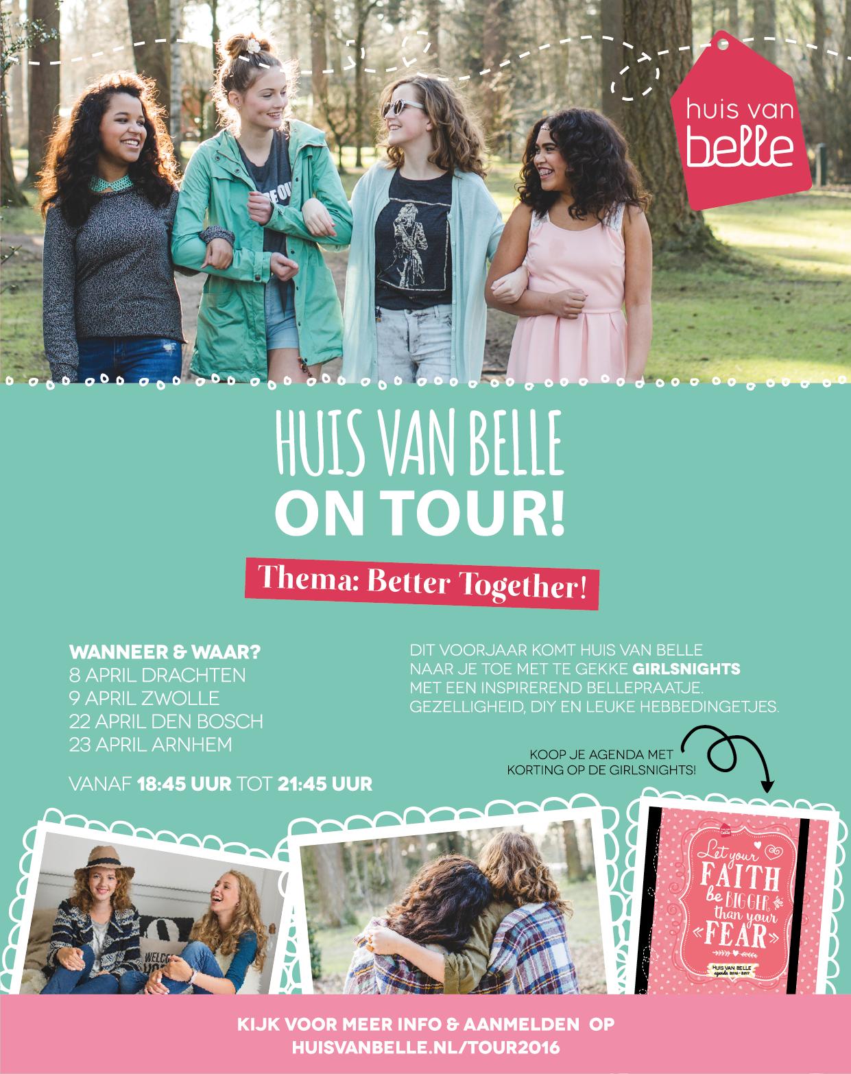 Advertentie Huis van Belle on tour