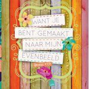 Posterboek met omslag quotes Belle A4 c.indd