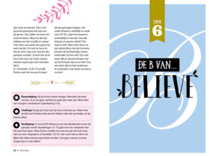 De B van.... Believe