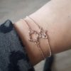 armbandje rose goud