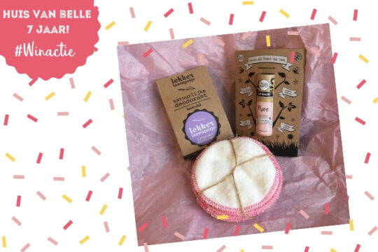Winactie 7 jaar Huis van Belle - beautypakketje Zo Zero