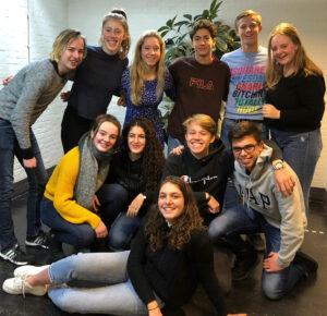 Het team van Youth For Climate NL