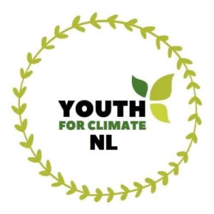 Youth For Climate NL logo