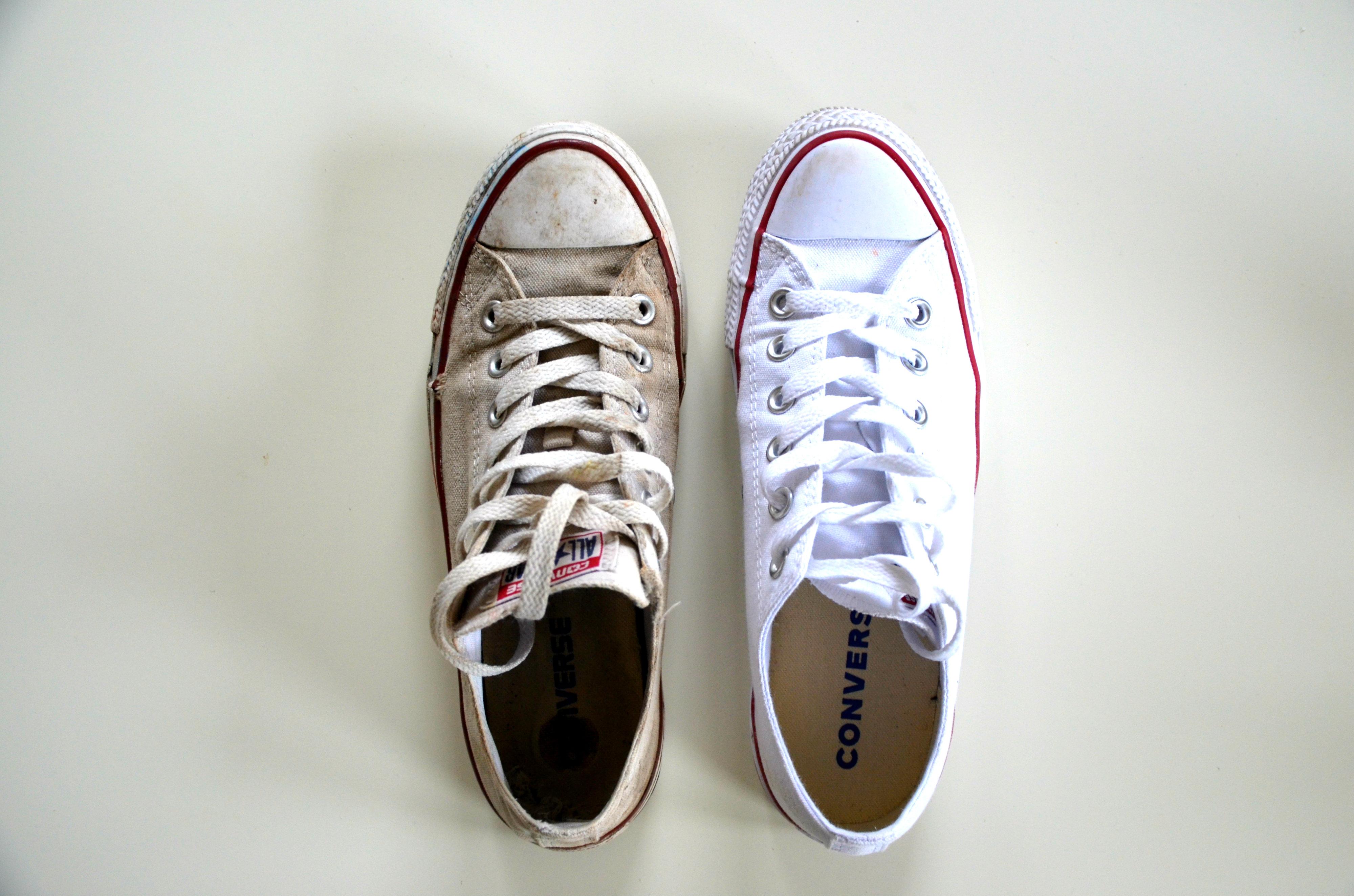 converse weer wit krijgen